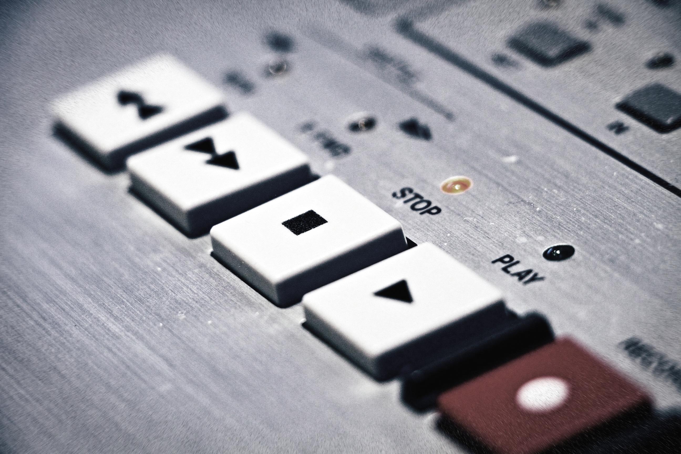I tasti del nostro principale strumento di lavoro, che hanno ispirato il nome e il logo di Tc Rec